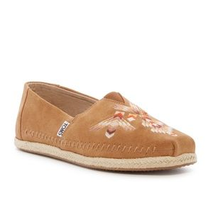 86a7986a8de Toms Deconstructed Embroidered Alpargata Shoes